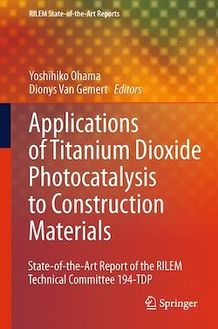 Application of Titanium Dioxide Photocatalysis to Construction Materials