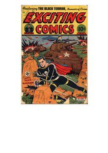 Exciting Comics 037 -AmericanEagle only de  - fiche descriptive