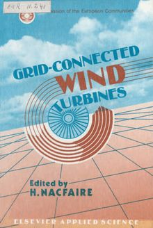 Grid connected wind turbines