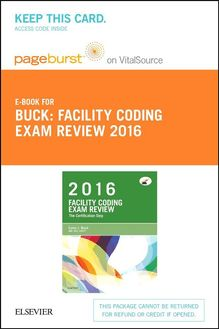 Facility Coding Exam Review 2016 - E-Book