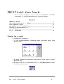 STK X Tutorial - Visual Basic 6