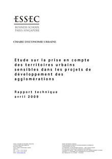 ESSEC - Etude DIV 2008 - Rapport technique final