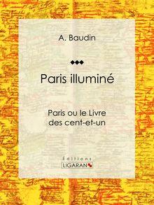 Paris illuminé de A. Baudin, Ligaran - fiche descriptive