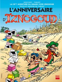 L'anniversaire d'iznogoud - Album 19 de Jean Tabary, Jean Tabary - fiche descriptive