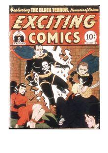 Exciting Comics 012 (fiche) de  - fiche descriptive