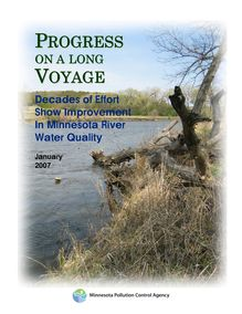 Progress on a long voyage   minnesota river water quality improvement