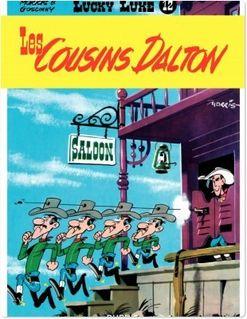 Lucky Luke - Tome 12 - LES COUSINS DALTON - Goscinny