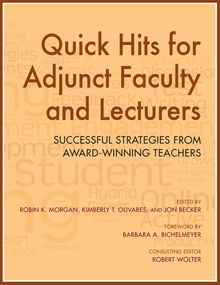 Quick Hits for Adjunct Faculty and Lecturers