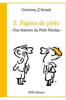 Signes de piste de Jean-Jacques Sempé, René Goscinny - fiche descriptive