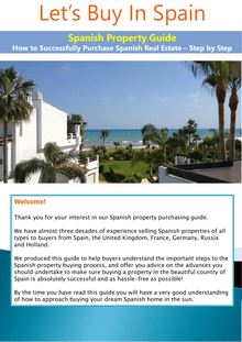 The Ultimate Guide To Buying Property In Spain