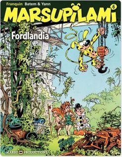 Marsupilami - Tome 6 - Fordlandia - Yann