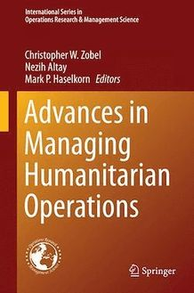 Advances in Managing Humanitarian Operations