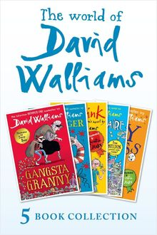 The World of David Walliams 5 Book Collection (The Boy in the Dress, Mr Stink, Billionaire Boy, Gangsta Granny, Ratburger)