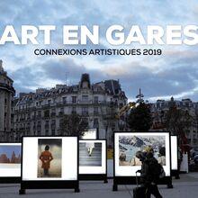 ART EN GARES - Connexions artistiques 2019 de David Paquin, Muriel Montero - fiche descriptive