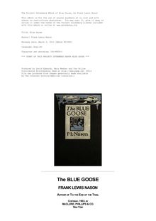The Blue Goose