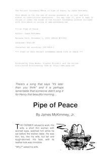 Pipe of Peace