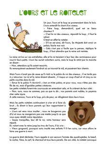 L'ours et le roitelet