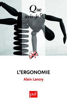 L'ergonomie de Alain Lancry - fiche descriptive
