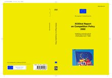 XXXIInd Report on competition policy 2002