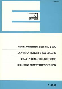 QUARTERLY IRON AND STEEL BULLETIN. 2-1982