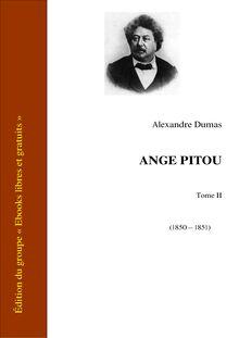Ange Pitou - Tome II - Les Mémoires d'un médecin
