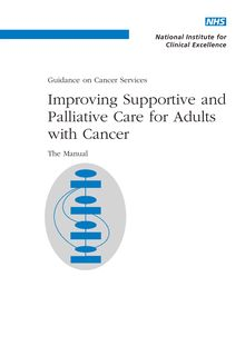 Improving Supportive and Palliative Care for Adults with Cancer
