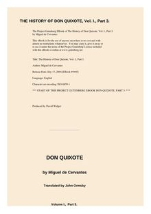 The History of Don Quixote, Volume 1, Part 03