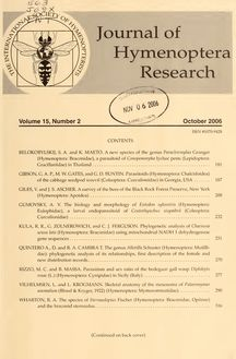 Journal of Hymenoptera research