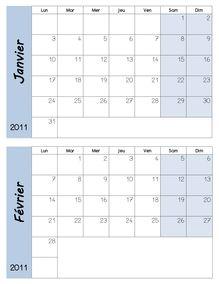 DDM CP – Les mois de l'année - DDM Mois 2010 2011
