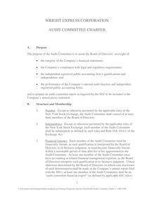 Audit Committee Charter 3 1 2007