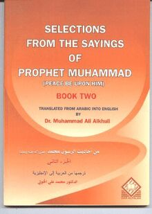 Selections from the sayings of prophet muhammad peace be upon him
