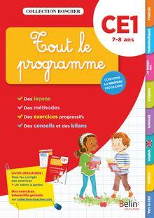 Tout le programme CE1 - Cahier