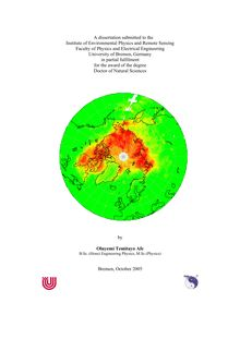 Retrieval and observations of atmospheric BrO from SCIAMACHY nadir Measurements [Elektronische Ressource] / by Oluyemi Temitayo Afe