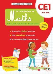 Je m'entraîne en maths CE1 - Cahier