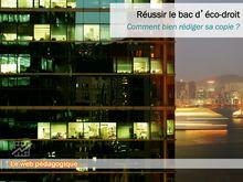 Bac 2014 Fiche methodo Eco droit