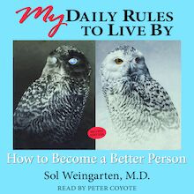 My Daily Rules to Live By: How to Become a Better Person