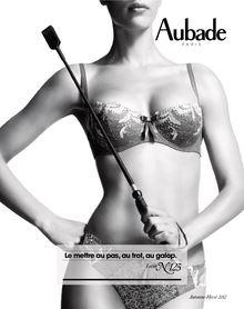 Lire : Catalogue Aubade, l'art d'aimer à la française