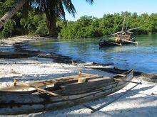 Plage de pêcheur, Madagascar