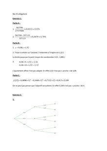 Bac 2012 ES Maths oblig Corrige