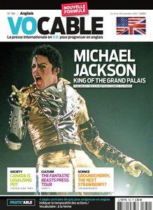 Magazine Vocable - Anglais - Du 15 au 28 novembre 2018