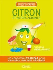 Citron et autres agrumes de Virbel-Alonso Christine - fiche descriptive