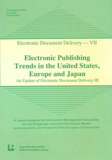 Trends in the United States, Japan and Europe