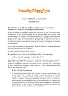 Annales du bac dissertation