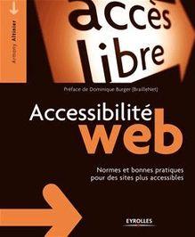 Accessibilité web de Altinier Armony, Burger Dominique - fiche descriptive