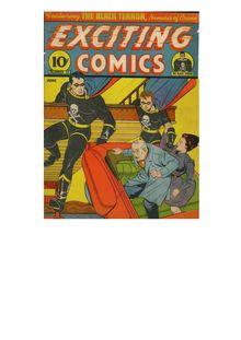 Lire Exciting Comics 010 (paper+4fiche) de