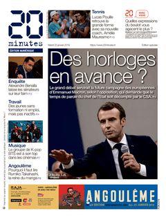 20 minutes Edition Nationale du 22-01-2019