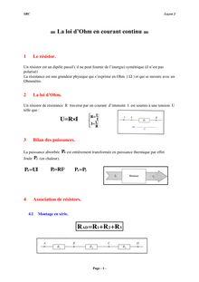 Cours et exercices de physique-chimie - 4e