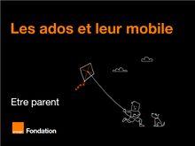 Parentalité numérique : Les jeunes et leur mobile