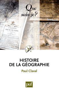 Histoire de la géographie de Paul Claval - fiche descriptive