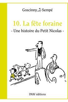 La fête foraine de René Goscinny, Jean-Jacques Sempé - fiche descriptive